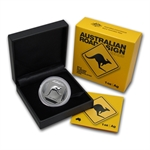 2013 1 oz Australian Silver Kangaroo Road Sign