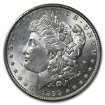 1899 Morgan Dollar MS-64+ PCGS