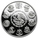 2013 1 oz Silver Mexican Libertad Proof - In Capsule