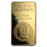 10 oz APMEX Gold Bar.9999 Fine (In Assay/Tamper-Evident Pkg)