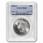 1904-O Morgan Dollar - MS-65 PCGS
