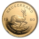 1980 1 oz Gold South Africa Krugerrand NGC PF-66 CAM