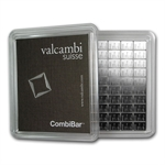 100x 1 gram Valcambi Silver CombiBar™ (With Assay) .999 Fine