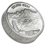 1 oz Swiss of America (Golden West) Silver Round .999 Fine