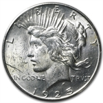 1925-S Peace Dollar MS-62 PCGS
