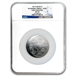 2013 5 oz Silver $10 Fiji Taku MS-70 NGC Early Release