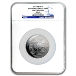 2013 5 oz Silver $10 Fiji Taku MS-69 NGC Early Release