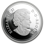 2013 1 oz Silver Canadian $20 - Maple Canopy (Spring)