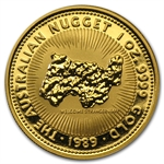 1989 1 oz Australian Gold Nugget
