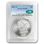 1881-O Morgan Dollar MS-65 PCGS - CAC
