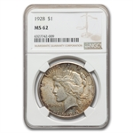 1928 Peace Dollar MS-62 NGC KEY DATE