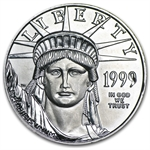 1999 1/2 oz Platinum American Eagle - Brilliant Uncirculated