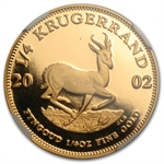 2002 1/4 oz Gold South Africa Krugerrand NGC PF-69 UCAM