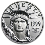 1999 1/4 oz Platinum American Eagle - Brilliant Uncirculated