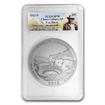 2012-P 5 oz Silver Chaco Culture SP-70 PCGS Roosevelt Label