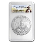 2012-P 5 oz Hawaii Volcanoes SP-70 PCGS Roosevelt Label