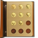 2006-2013 1 oz Gold American Buffalo Complete 8 Coin Collection