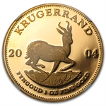 2004 1 oz Gold South Africa Krugerrand Signature NGC PF-65 UCAM