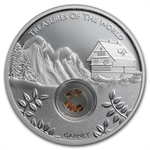 2013 Treasures of the World - Europe 1 oz Silver Proof Locket