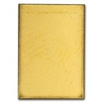 1 gram Degussa Gold Bar (No Assay) .9999 Fine