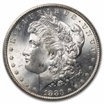 1883-CC Morgan Dollar MS-63 NGC - GSA Certified