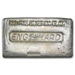 100 oz Engelhard Silver Bar (Poured) .999 Fine