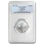 2013 2 oz Silver Libertad MS-69 PCGS (FS) - Registry Set