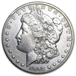 1892-CC Morgan Dollar - Extra Fine Details - Cleaned