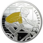 2013 10€ Silver Proof 100th Edition Tour de France -Yellow Jersey