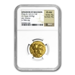 Macedonia Gold Stater of Philip III (323-317BC) NGC ChAU