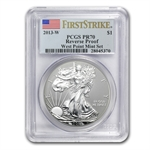 2013 American Silver Eagle West Point Set PCGS 70 First Strike
