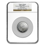 5 oz Proof Silver - 1876 George T Morgan Pattern $100 Union - NGC