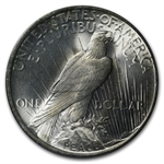 1922-1925 Peace Silver Dollar MS-63+ Plus PCGS