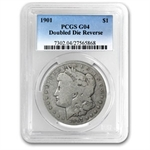1901 Good-4 PCGS VAM-3 Shifted Eagle Doubled Die Reverse Top-100