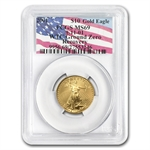 2001 1/4 oz Gold American Eagle PCGS MS-69 (World Trade Center)