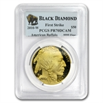 2010-W 1 oz Proof Gold Buffalo PR-70 PCGS FS (Black Diamond)