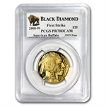 2008-W 1/2 oz Gold Buffalo PR-70 PCGS First Strike Black Diamond