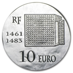 2013 10 Euro Silver Proof Legendary Collection - Louis XI