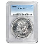 1878-1904 Morgan Dollars - MS-62 PCGS - San Francisco