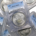 1878-1904 Morgan Dollars - MS-62 PCGS - Philadelphia