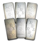 10 oz Johnson Matthey Silver Bar (Made for TD Bank) .999 Fine