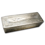 917.30 oz Johnson Matthey Silver Bar .999+ Fine