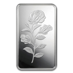 5 gram Pamp Suisse Silver Bar - Rosa (In Assay)
