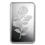 1/2 oz Pamp Suisse Silver Bar - Rosa (In Assay)