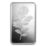 50 gram Pamp Suisse Silver Bar - Rosa (In Assay)