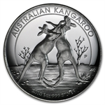 2010 1 oz Australian High Relief Proof Silver Kangaroo Abrasions