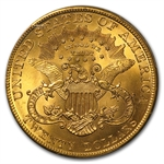 $20 Gold Liberty Double Eagle - MS-65+ PCGS