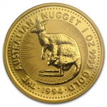 1994 1 oz Australian Gold Nugget NGC MS-69