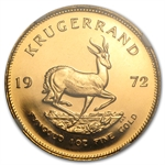 1972 1 oz Proof Gold South Africa Krugerrand NGC PF-66 Cameo