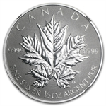 2013 1/2 oz Silver Canadian $4 Maple Leaf 25th Anniv. PF-69 NGC
